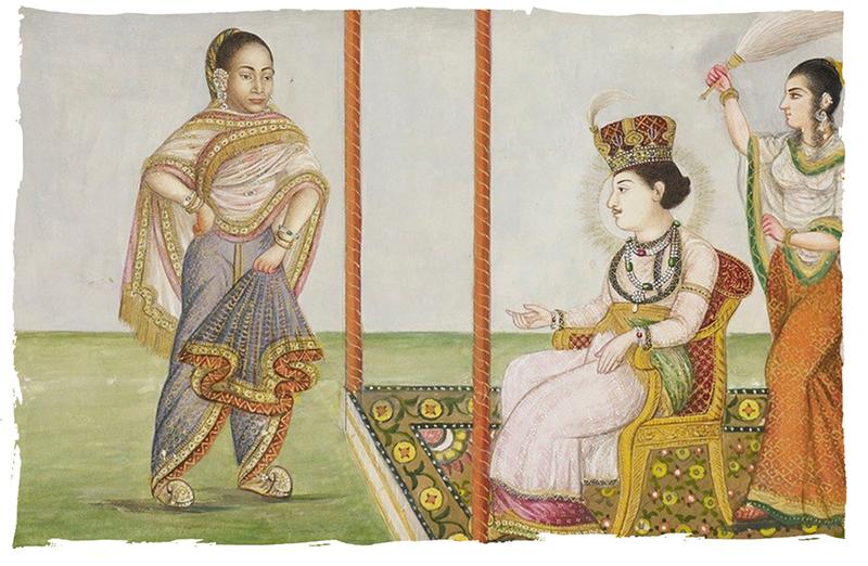Manuscrit Ishqnamah